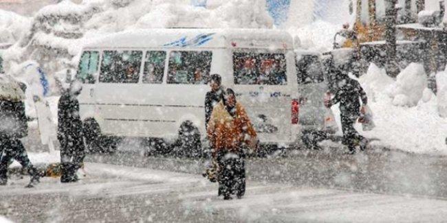 Türkiye'nin en soğuk yerleri belli oldu