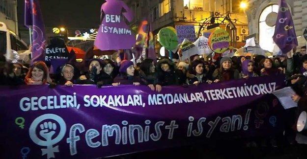 14. Feminist Gece Yürüyüşü çağrısı