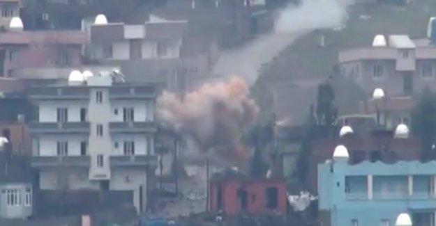 27 cenaze Cizre Devlet Hastanesi'ne kaldırıldı