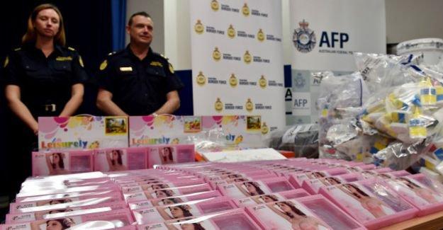700 milyon dolarlık uyuşturucu sütyen dolgularında yakalandı