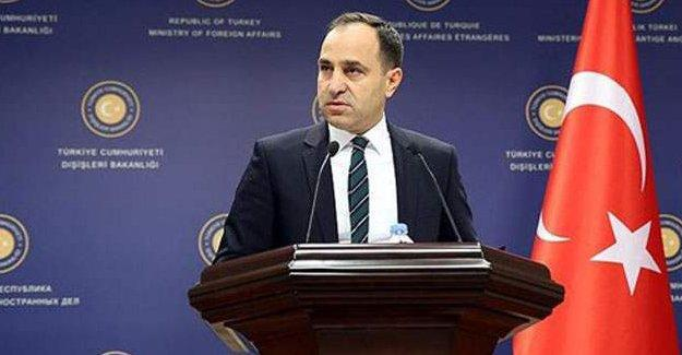 'ABD'nin Türkiye ile PYD'yi aynı kefeye koyan açıklamalarını hayretle karşıladık'