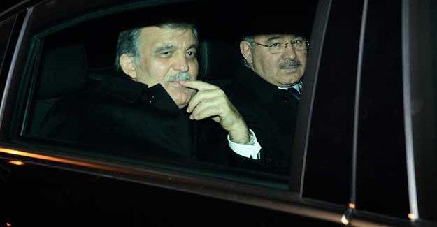 Abdullah Gül ve Bülent Arınç görüşmesi başladı