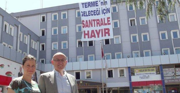 AKP'li Terme Belediye Başkanı: Cumhurbaşkanı da arasa santrale izin vermeyeceğim