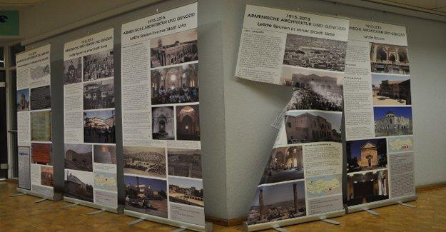 Almanya'daki Ermeni Soykırımı sergisine çirkin saldırı