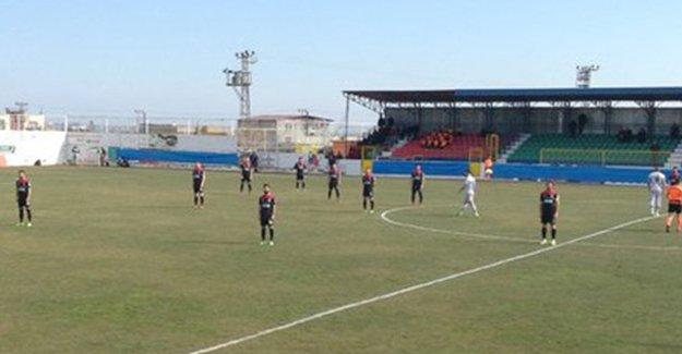 Amedspor-Fenerbahçe maçında protesto