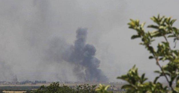ANHA: TSK Afrin'i tank ve füzelerle bombaladı