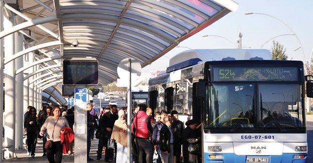 Ankara'da da toplu ulaşıma zam