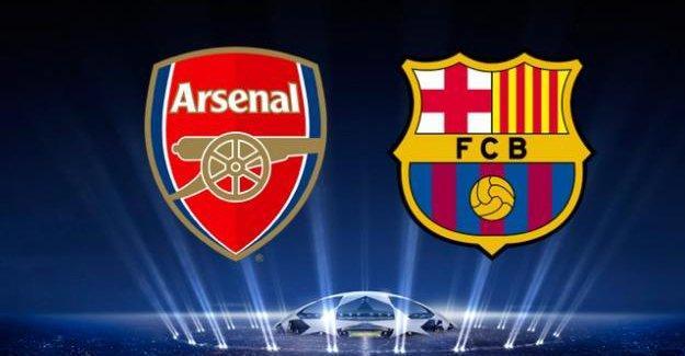 Arsenal-Barcelona maçı hangi kanalda, saat kaçta?