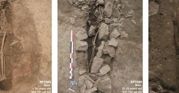 Avrupa'nın en eski Müslüman mezarlığı bulundu