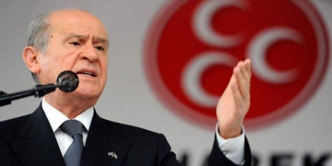 Bahçeli: CHP'yi ikna edin, MHP çabalarını sürdürecek