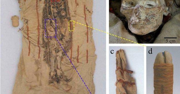 Çin'de 4.000 yıllık kadın mumyaların yanında tahta penisler bulundu