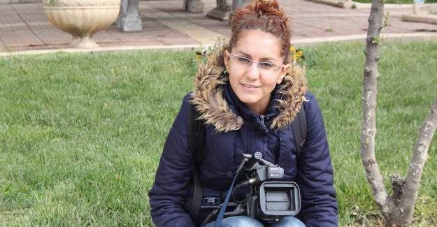 Cizre'de DİHA muhabiri Beritan İrlan gözaltına alındı