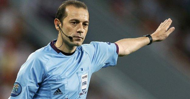 Cüneyt Çakır amatör lig maçına atandı