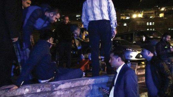 Davutoğlu'nun geçiş güzergahında bomba patladı