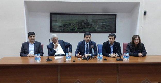 Demirtaş: 5 kişilik heyetle Cizre'ye gitmek istiyoruz