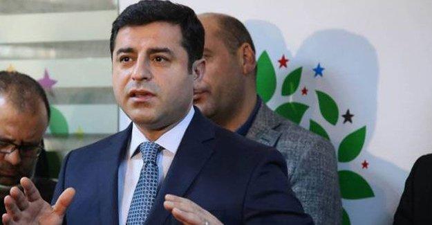 Demirtaş'tan Davutoğlu'na yanıt