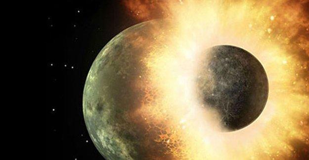 'Dünya iki gezegenin çarpışmasıyla oluştu'