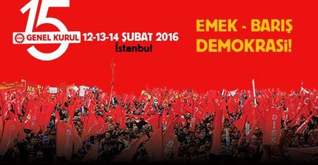 Dünya sendikal hareketinin liderleri DİSK Genel Kurulu'na geliyor