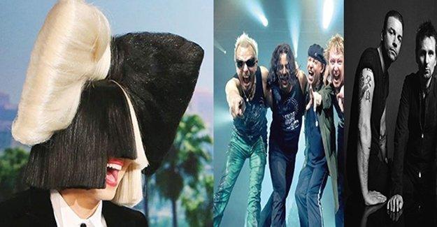 Dünyaca ünlü müzik gruplarından İstanbul'a konser şöleni