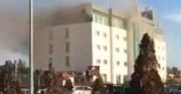 Erbil'deki yangında 19 kişi hayatını kaybetti