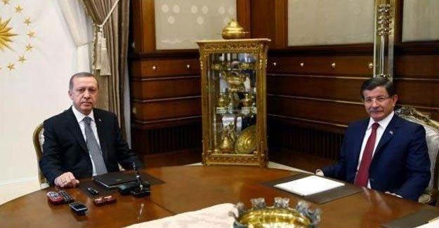 Erdoğan Davutoğlu ile görüştü