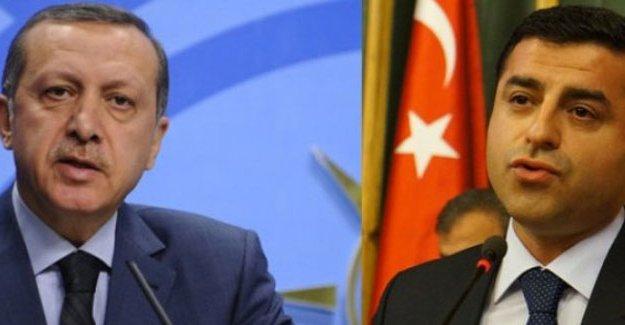 Erdoğan, Demirtaş hakkında suç duyurusunda bulundu