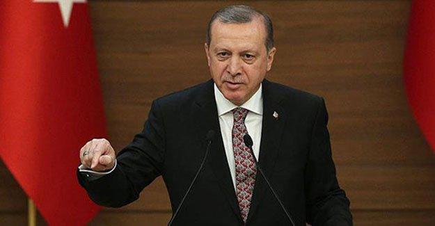 Erdoğan: Kimse Türkiye'nin meşru müdafaa hakkını engeleyemez