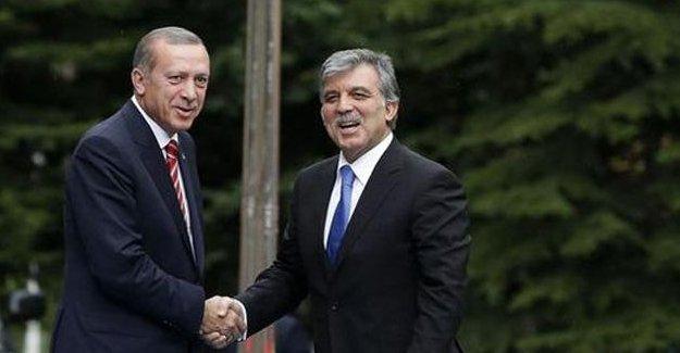 Erdoğan ve Gül sarayda bir araya geldi