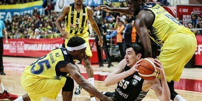 Fenerbahçe, Bogdanović'in son saniye üçlüğüyle şampiyon oldu