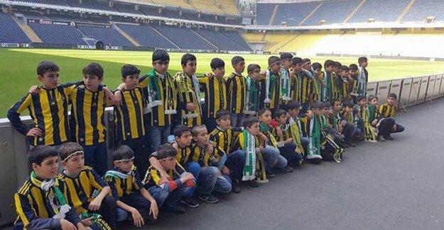 Fenerbahçe, Sur'dan gelen 45 çocuğu ağırlıyor