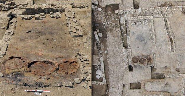 Fransa'da 1. yüzyıldan kalma antik Roma restoranı bulundu
