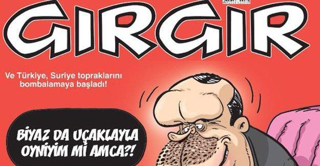 Gırgır'ın kapağında 'Suriye bombalaması'