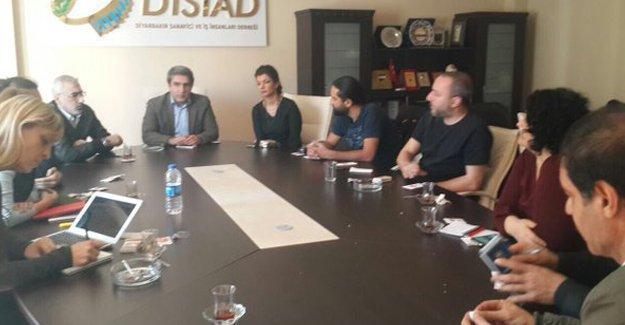 Haber Nöbeti'nin üçüncü grubu Diyarbakır'da