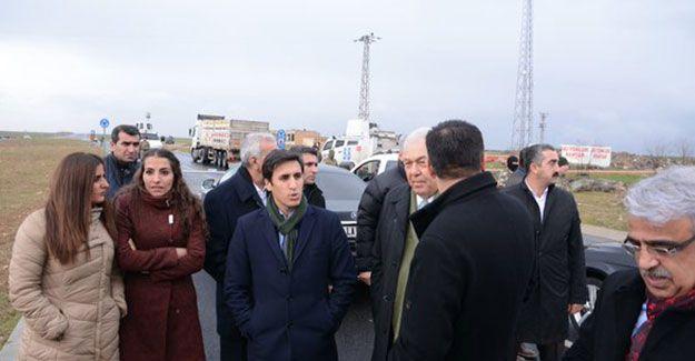 HDP'li ve DBP'li heyetin Cizre'ye girişi engellendi