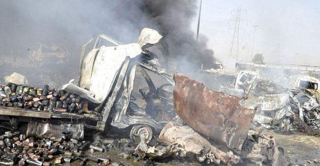 Humus'ta bombalı saldırı: En az 46 ölü
