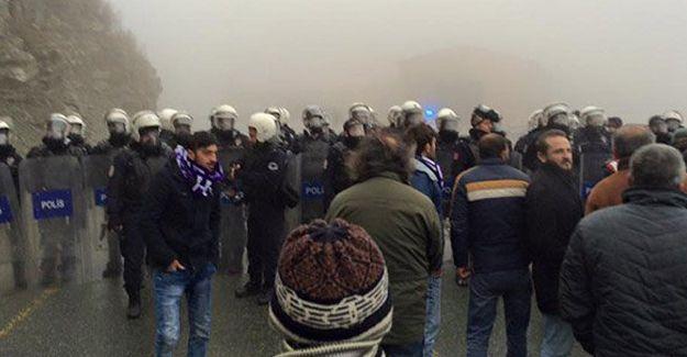 İçişleri Bakanlığı: Hopa halkı Artvin'e girmeyecek