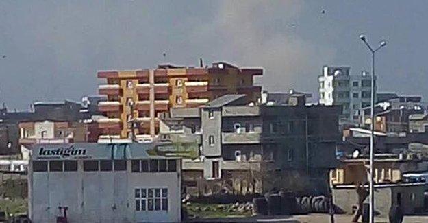 İdil'de askeri aracın geçişi sırasında patlama