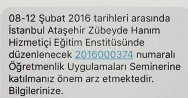 MEB'den İdil ve Cizre'deki öğretmenlere 'İstanbul'a gidin' mesajı