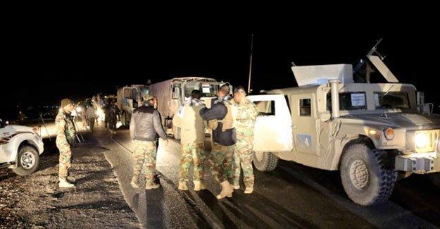 Irak ordusu Musul için ilk adımı attı