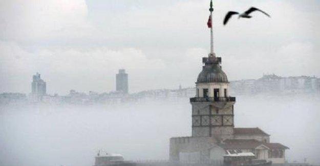 İstanbul'da adalar hariç tüm vapur seferleri iptal edildi