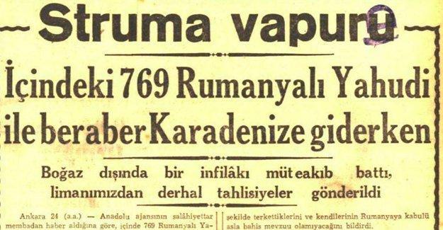 İstanbul Valisi: Struma faciasında suçlu aramamalıyız