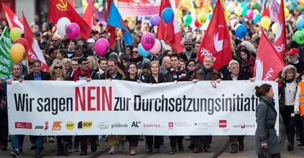 İsviçre, suçlu yabancıların kovulmasını istemedi