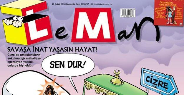 LeMan'dan Davutoğlu'lu Cizre kapağı