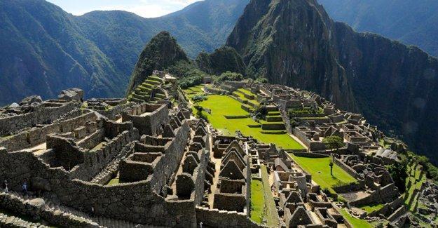Machu Picchu için iyi haber
