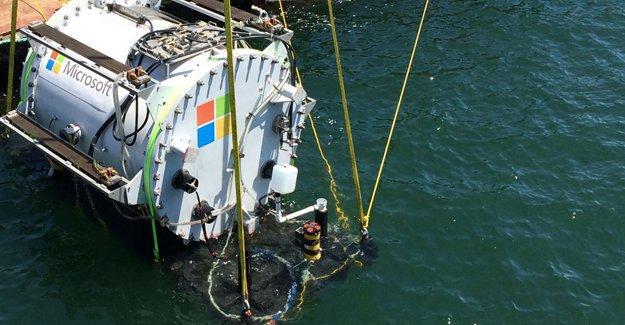 Microsoft, deniz altında veri depolama merkezi kuruyor