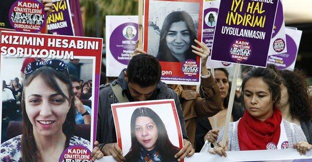 Ocak ayında 36 kadın erkekler tarafından öldürüldü