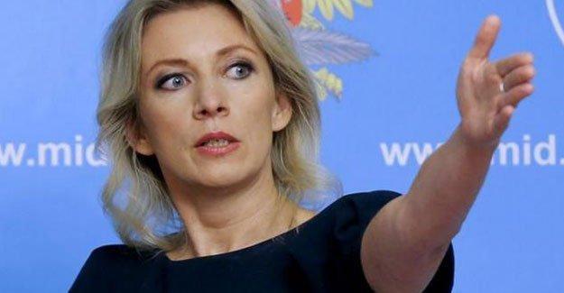 Rus sözcü Zaharova: Türkiye yalan söylüyor