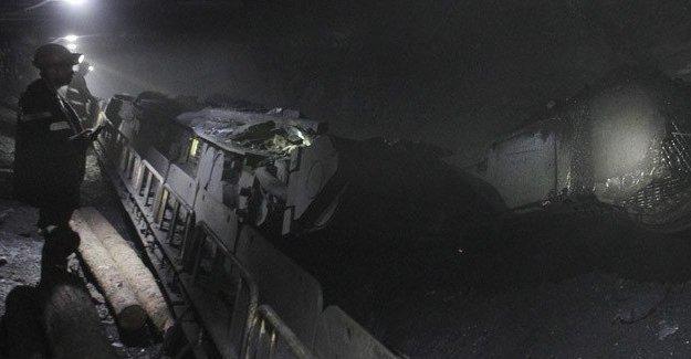 Rusya'da kömür madeninde göçük