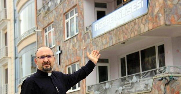 Samsun Agape Kilisesi yine saldırıya uğradı