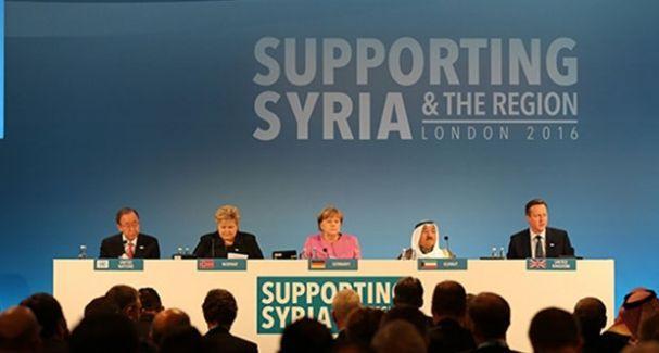 Suriye için toplanan yardım miktarı belli oldu